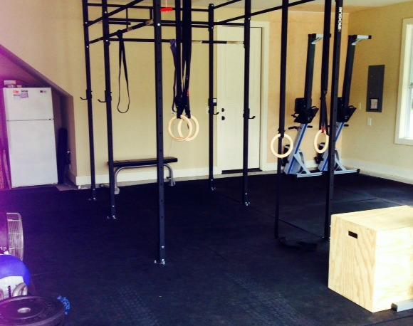 My garage gym benham brothers