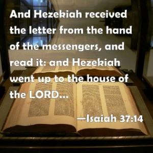 isaiah 3714