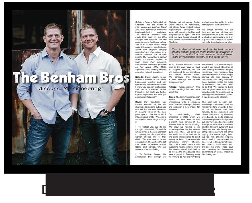 Missioneering Interview